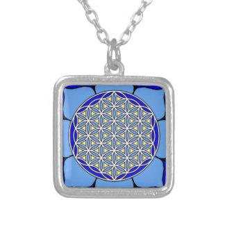 Lotus Blue5 Custom Necklace