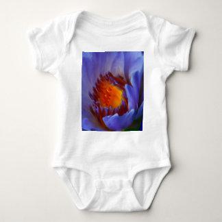 LOTUS BLUE BABY BODYSUIT