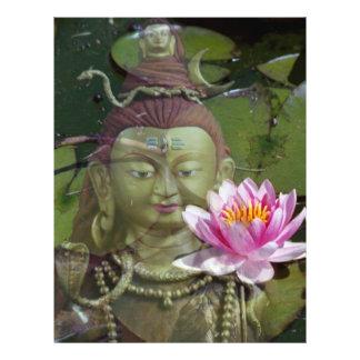 Lotus & Buddha Flyer