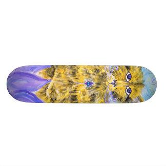 Lotus Cat 21.6 Cm Skateboard Deck