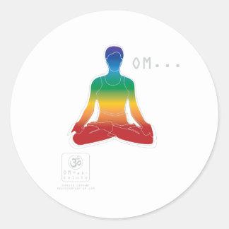 Lotus Chakras Sticker