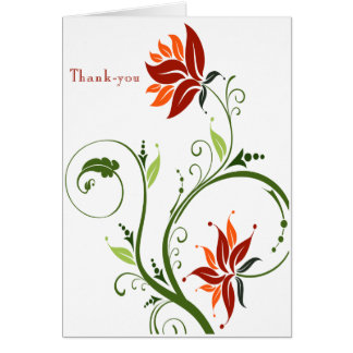 Lotus Design Thank-You Card