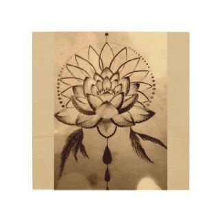 Lotus Dreams Wood Wall Art