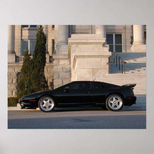 Lotus Esprit V8 Poster