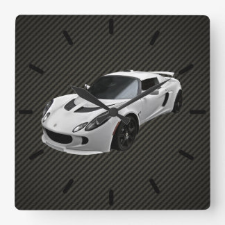 Lotus Exige S Square Wall Clock