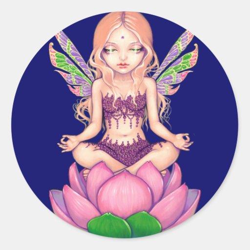 """Lotus Fairy"" Sticker"