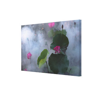 Lotus Fairyland Photographic Art -10 Canvas Print