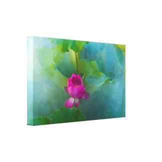 Lotus Fairyland Photographic Art -13 Canvas Print