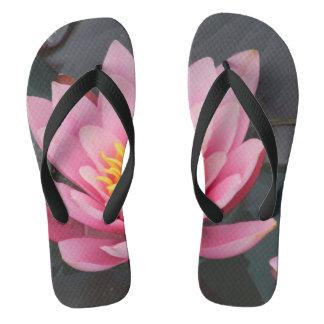 Lotus Flip Flops