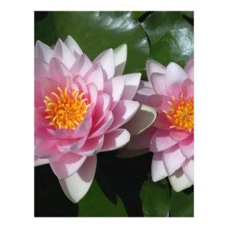 Lotus Flower 21.5 Cm X 28 Cm Flyer