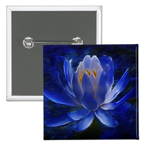 Lotus flower and its meaning 15 cm square badge