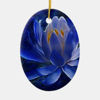 Lotus flower and its meaning christmas ornament