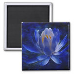 Lotus flower and its meaning refrigerator magnet