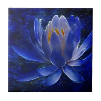 Lotus flower and its meaning small square tile