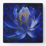 Lotus flower and its meaning wall clock