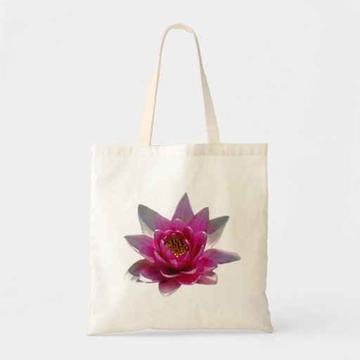 Lotus flower and meaning tote bags
