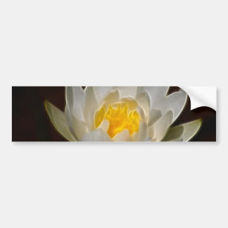 Lotus flower and meaning bumper sticker