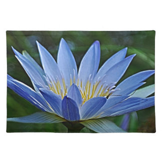 Lotus flower and meaning placemat