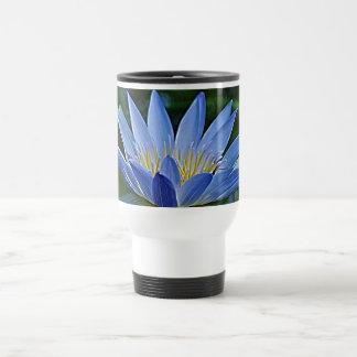 Lotus flower and meaning travel mug
