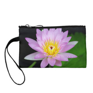 Lotus Flower Change Purse