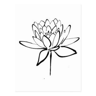 White Lotus Flower Gifts Gift Ideas Zazzle Uk