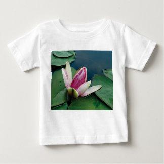 Lotus Flower Blossom Baby Jersey T-Shirt, White Baby T-Shirt