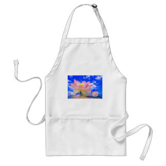 Lotus Flower Born in Water Standard Apron