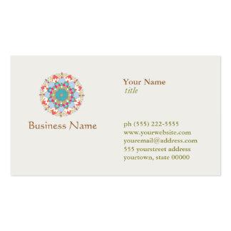 Lotus Flower Business Card