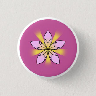 Lotus Flower Button