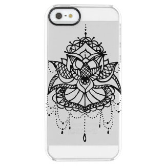 lotus Flower Clear iPhone SE/5/5s Case