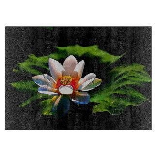 Lotus Flower design luxury chopping board