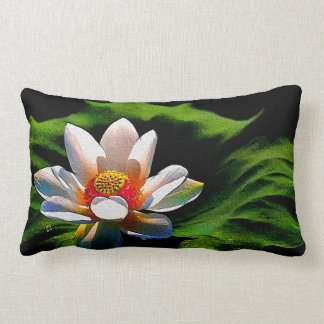 Lotus flower design luxury decorative pillow