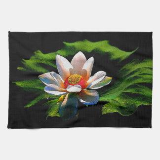 Lotus Flower design luxury kitchen/hand towel
