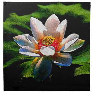 Lotus Flower design luxury set of napkins