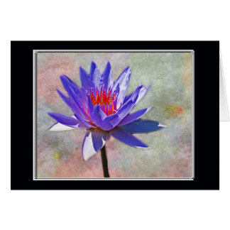 Lotus Flower Happy Birthday Card