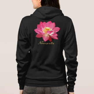 Lotus Flower Hoodie Shirt Namaste