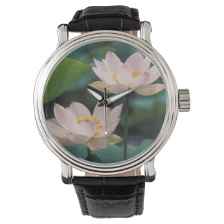 Lotus flower in blossom, China Wrist Watch