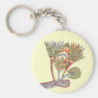 Lotus Flower Key Ring