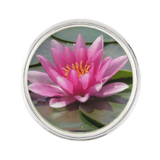 Lotus Flower Lapel Pin