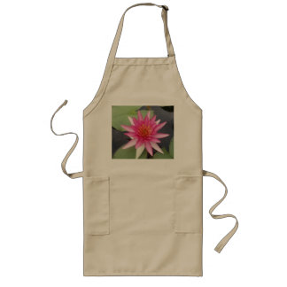 Lotus Flower Long Apron