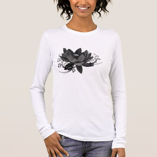 lotus-flower long sleeve T-Shirt