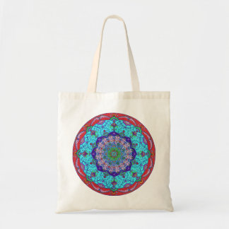 Lotus Flower Mandala Tote Bag