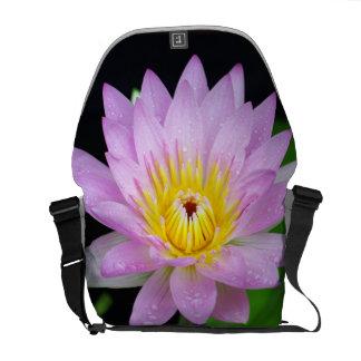 Lotus Flower Messenger Bags