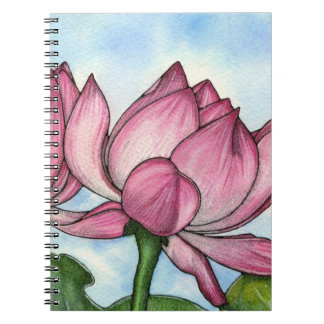 Lotus Flower Notebook