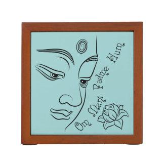 Lotus flower Om Mani Padme Hum Pencil/Pen Holder