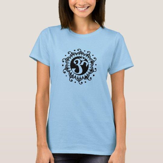 Lotus Flower Om T-Shirt