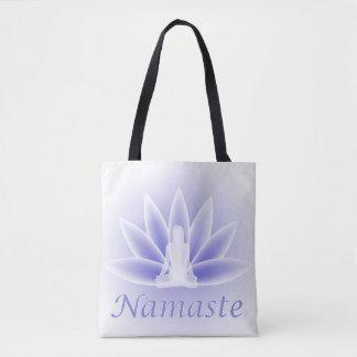 Lotus Flower Pose Namaste Tote