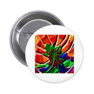 Lotus Flower -   Power Healing 6 Cm Round Badge