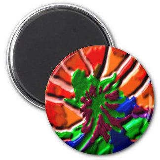Lotus Flower -   Power Healing 6 Cm Round Magnet