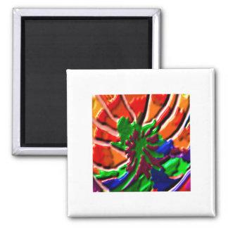 Lotus Flower -   Power Healing Square Magnet
